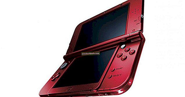 Fix: Nintendo 3ds-fejl er opstået