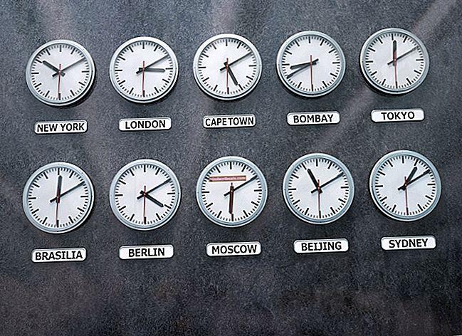 Sådan ændres tidszonen i Gmail