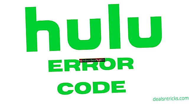 Sådan rettes Hulu fejlkode P-DEV322