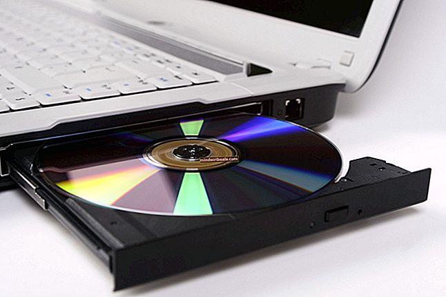 Fix: CD / DVD-drev vises ikke i Windows Stifinder