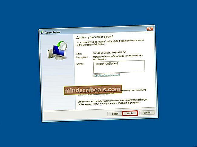 Sådan oprettes et systemgendannelsespunkt på en Windows 7/8 og 10