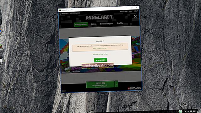 Oprava: Minecraft Kód chyby 5