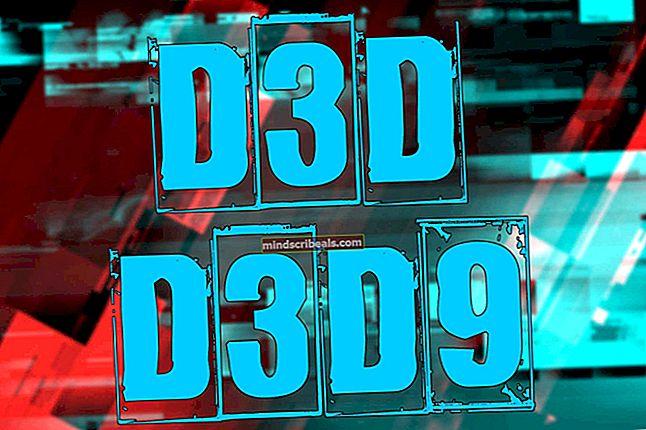 Fix: Kunne ikke oprette d3d9-enhed