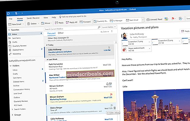 Sådan arkiveres e-mails i Outlook 2007, 2010, 2013, 2016