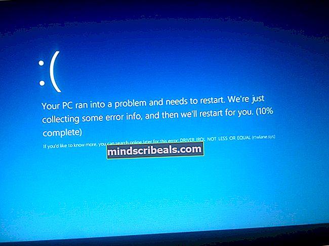 Sådan ordnes BSOD forårsaget af rtwlanu.sys på Windows?