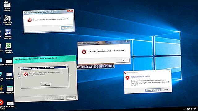 Rettelse af en fejl opstået under havnekonfiguration på Windows 10