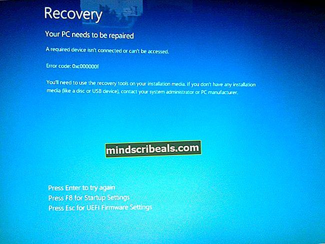 FIX: Windows 10 kunne ikke installeres Fejl 80240031