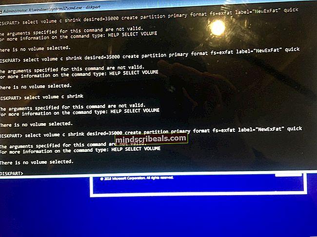 Fix: Virtual Disk Service-fejl volumenstørrelsen er for stor