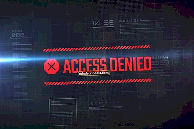 Fix: Adgang til notesblok nægtet