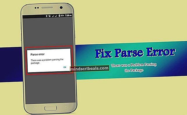 Fix: NET-parsingsfejl 0xC00CE556