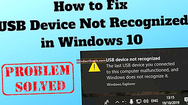 Fix: iPhone genkendes ikke af Windows 10