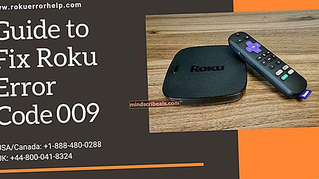 Fix: Fejlkode 009 'Roku kan ikke oprette forbindelse til internettet'