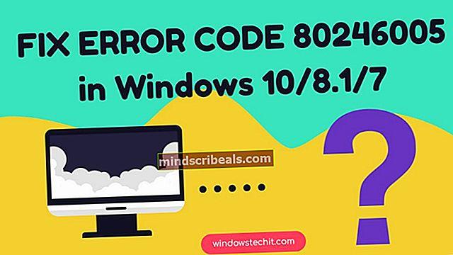 Korjaus: Windows Update -virhekoodi 0x8024402c