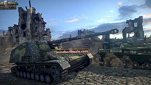Sådan løses World of Tanks Crashing?