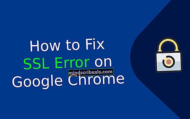 Fix: Google-certifikatfejl