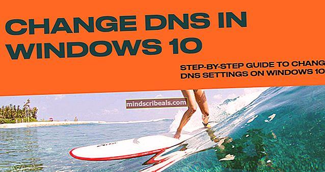 Sådan ændres DNS i Windows 10