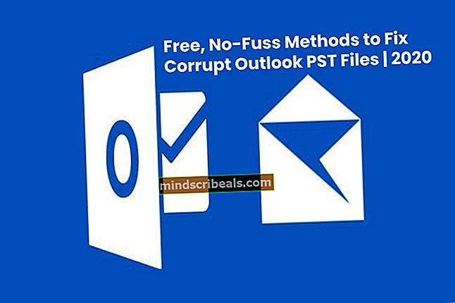 Fix: Outlook.pst kan ikke findes