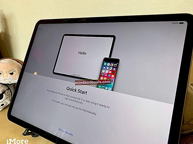 Sådan opsættes en brugt iPhone eller iPad