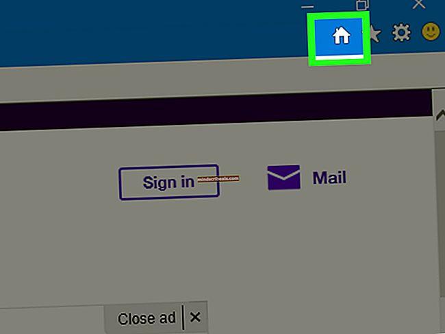 Sådan gør du Yahoo til din hjemmeside