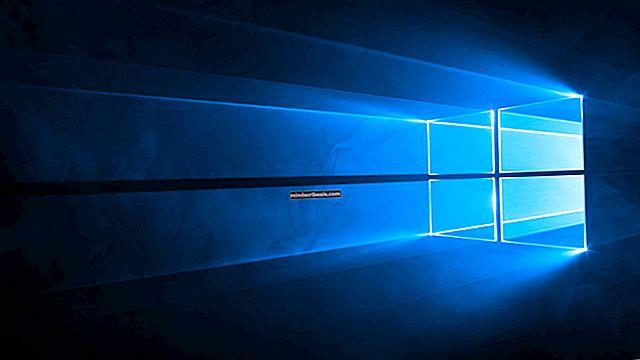 Kielipalkin palauttaminen Windows 10: ssä