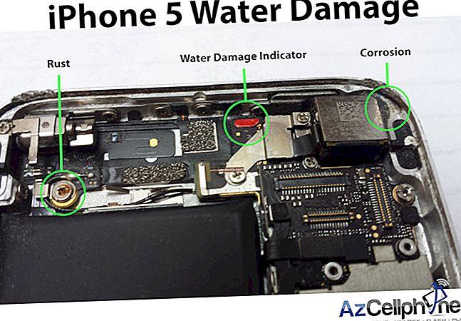 Sådan repareres en vandskadet iPhone 5