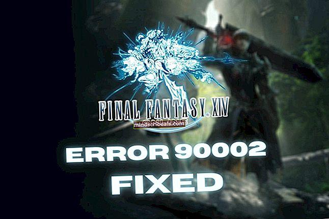 Fix: FFXIV fejl 5006