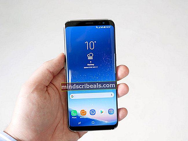Fix: Trådløs opladning stoppede med at arbejde i Galaxy S8