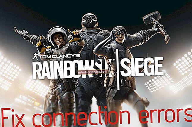 Fix: Rainbow Six Siege Connection Failure Error 2-0x0000c015