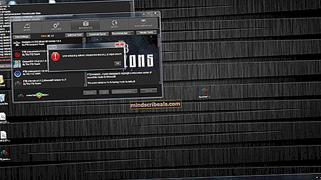 Sådan løses 'Fejl ved download af ModPack' med FTB Launcher