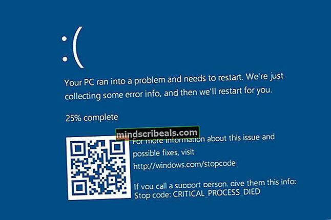 Fix: BlueScreen Recovery Error 0xc0000017 på Windows 10