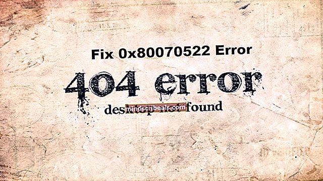 """FIX: Et påkrævet privilegium er ikke indeholdt af klienten """"0x80070522"""""""