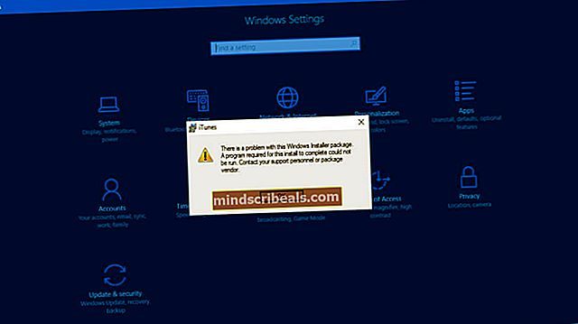 Korjaus: Windows-virhe 0x8000ffff